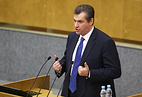 Leonid Slutsky, chairman of the Russian State Duma's International Affairs Committee