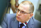 Russian Foreign Ministry's special envoy for human rights Konstantin Dolgov