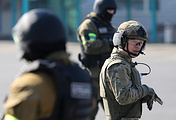 Anti-terror drills in Russsia's Kaliningrad