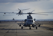 Mi-8 helicopters