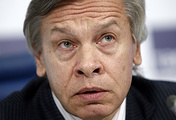 Alexey Pushkov, member of the Russian Federation Council's Committee on Defense and Security
