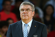 President of the International Olympic Committee Thomas Bach