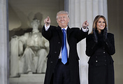 President-elect Donald Trump and his wife Melania Trump