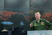 The official representative of the Ministry of Defense of the Russian Federation Igor Konashenkov