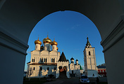 A view of the Ipatiev Monastery of the Holy Trinity in Kostroma