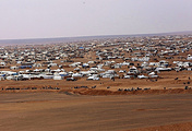 A refugee camp in Syria