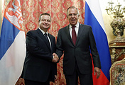Ivica Dacic and Sergey Lavrov
