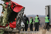 MH17 crash site in Ukraine