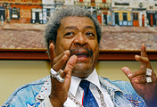 US boxing promoter Don King