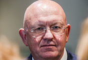 Russia's Permanent Representative to the United Nations Vasily Nebenzya