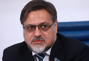 The self-proclaimed Lugansk People's Republic (LPR) envoy to the Contact Group Vladislav Deinego