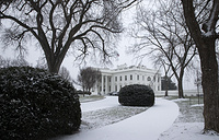 The White House in Washington, the official residence and principal workplace of the President of the United States