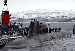 Project 885 nuclear submarine