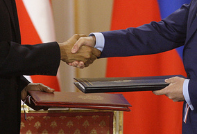 New START nuclear arms reduction treaty was signed between the US and Russia in 2010
