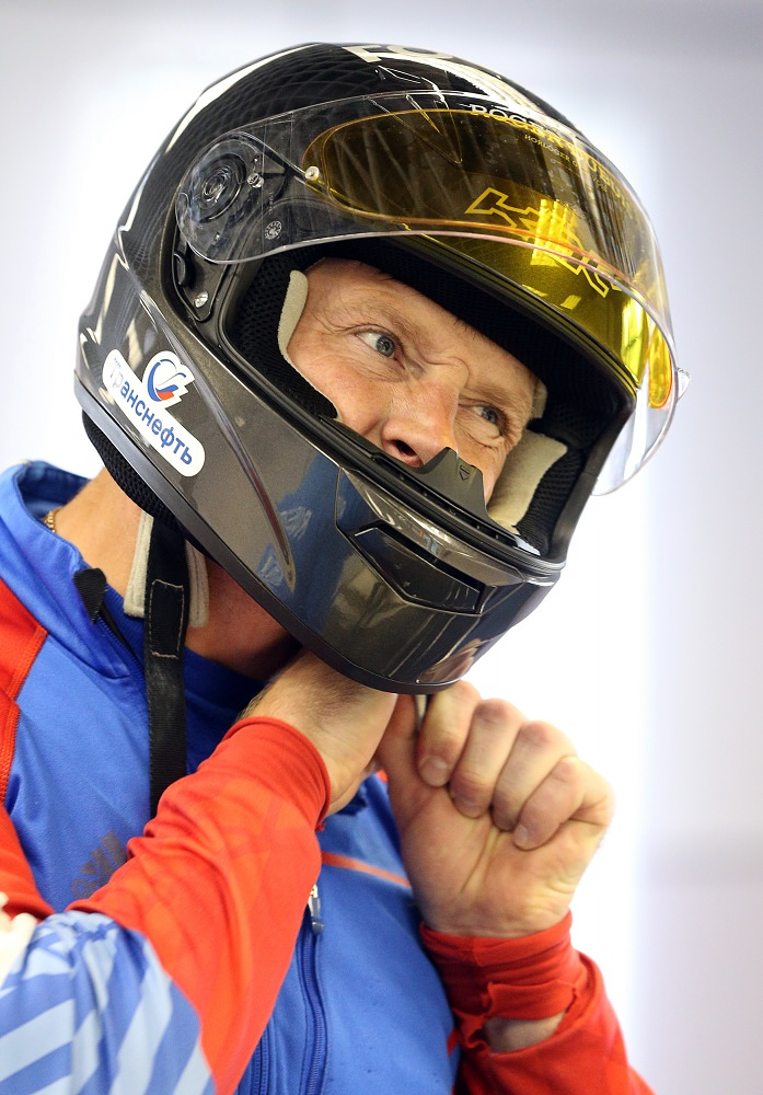 Bobsledder Alexander Zubkov has been appointed flag bearer of the Russian olympic team
