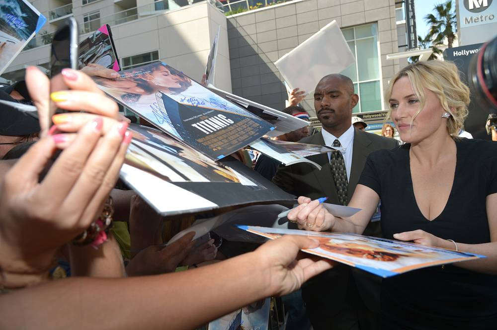 Kate Winslet was the youngest person to acquire six Academy Award nominations, and won the Academy Award for Best Actress for 'The Reader' (2008)