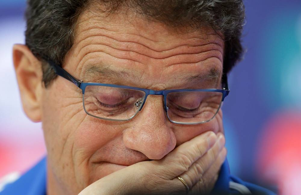The fourth in the list is another Italian, Fabio Capello ($13 million per year), who is chief coach of Russia's national football team