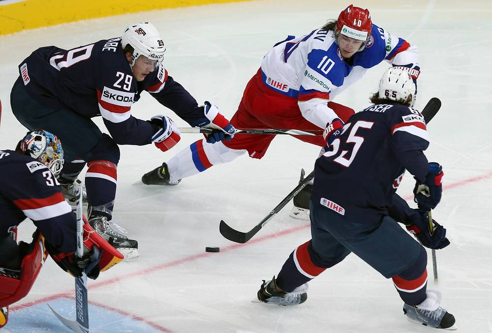 On May 12 Russia beat the USA 6:1