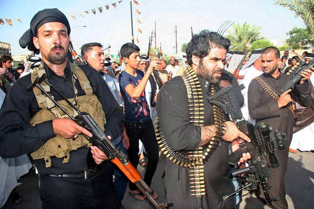 Pro-government Shiite gunmen