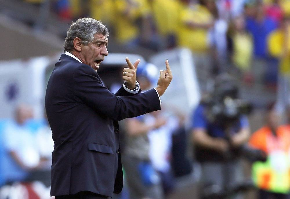 Greece national team coach Fernando Santos