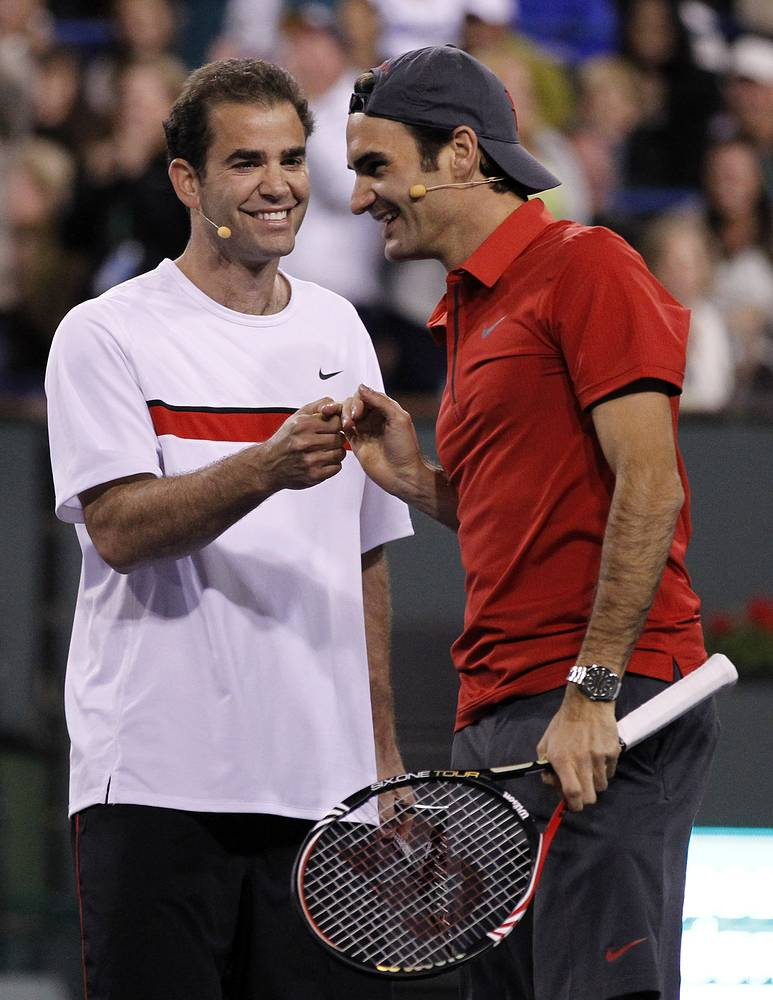 Pete Sampras and Roger Federer together hold the record of most Gentlemen's Singles titles (seven)