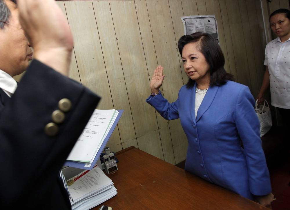 Ex-president of the Philippines, Maria Gloria Macapagal-Arroyo, was arrested October 2012 on suspicion of embezzlement from a state fund. Ealier, the politician spent three months under arrest on suspicion of fraud, but was released on bail.