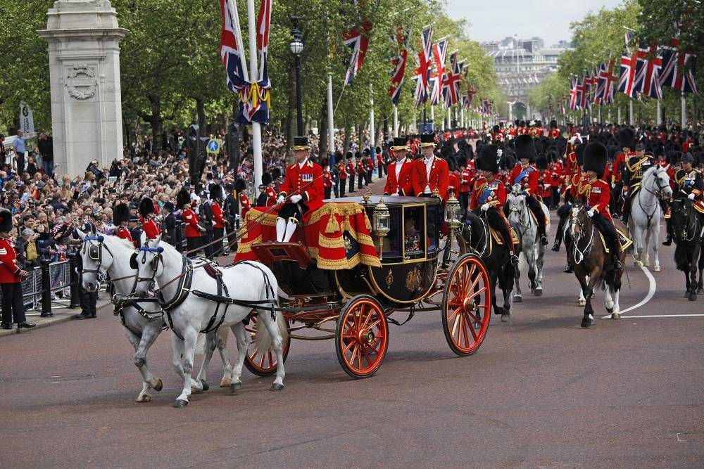 In Great Britain Queen's birthday is celebrated with festivities and fireworkd. The peculiar fact is that the date is not the same as Queen's date of birth, but is officially set for one of June's Saturdays