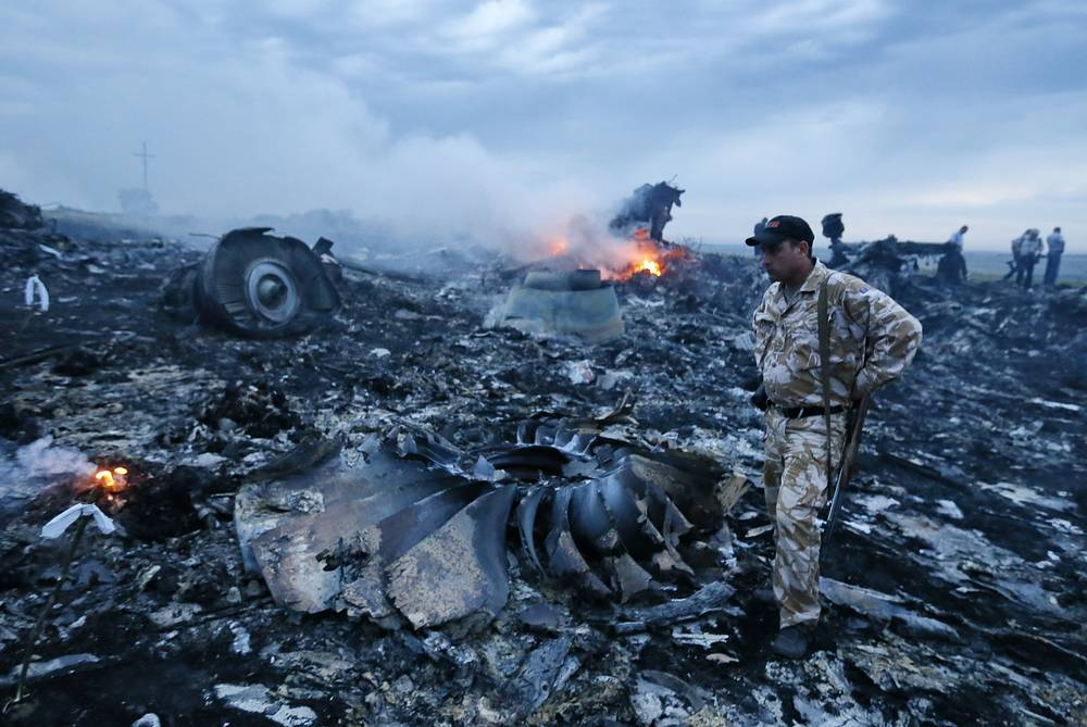 Malaysia Airlines Boeing-777 passenger plane crashed in Ukraine 60 km from the Russian border on July 17