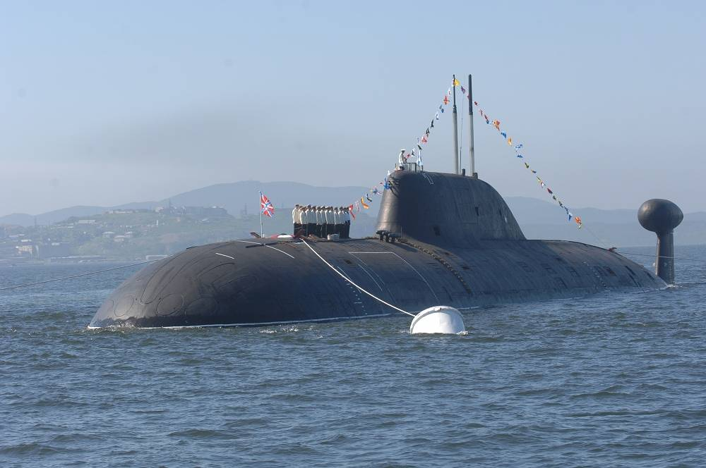 Project 971 nuclear-powered attack submarine Shchuka-B
