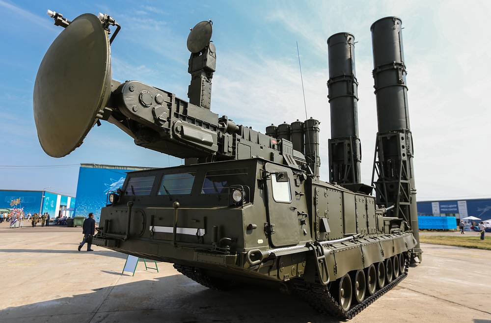 S-300V air defense missile weapon system