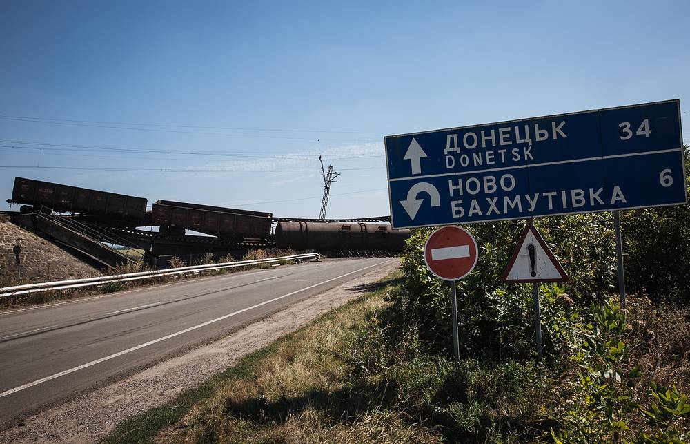 However, heavy fighting continues in the Donetsk Region, causing damage to civil infrastructure