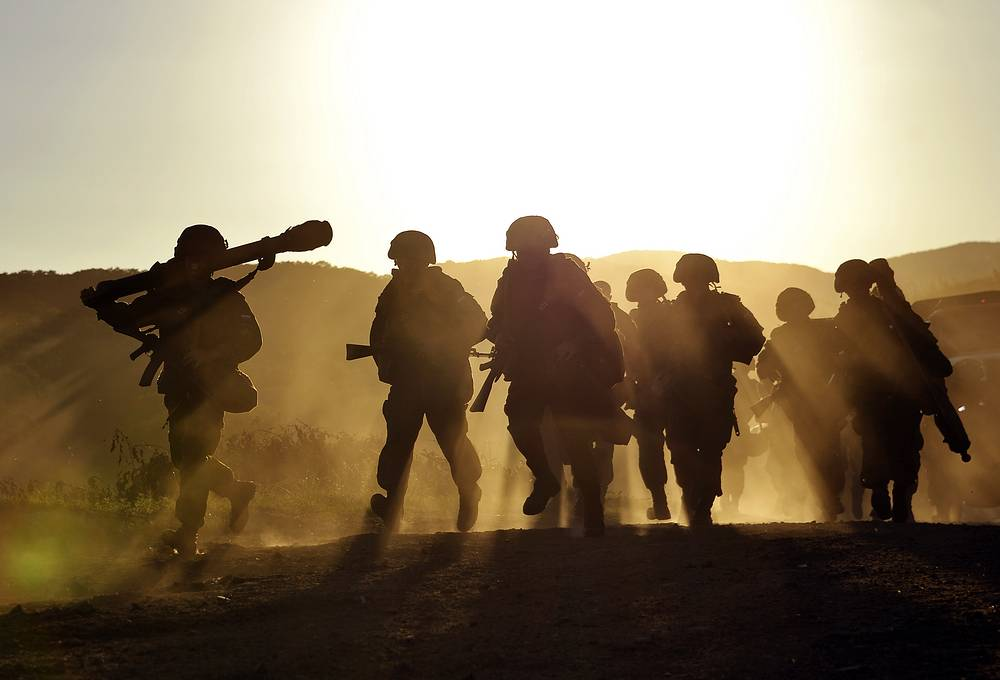 Over 100,000 servicemen are taking part in the snap check