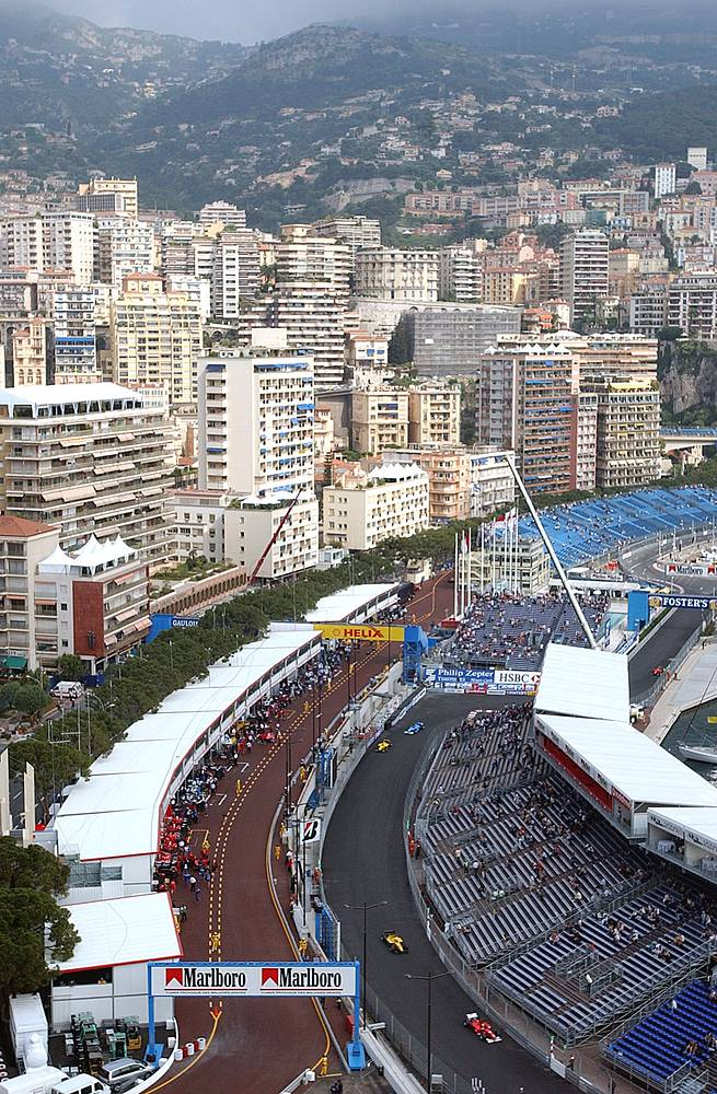 Photo: A general view of the Monaco circuit, May 21, 2004