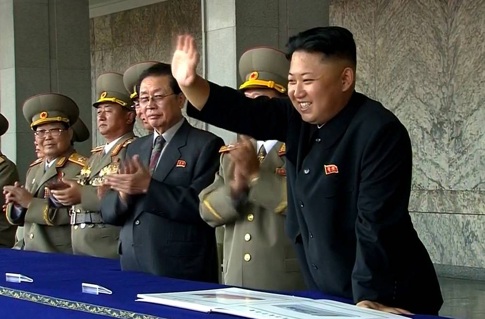 Such long absence is very uncharacteristic for Kim Jong Un as he is usually very active on public opposite to the rest North Korean ruling family. Photo: Kim Jong Un waves to spectators and participants of a military parade celebrating the 65th anniversary of the country's founding in Pyongyang, North Korea, December 13, 2013