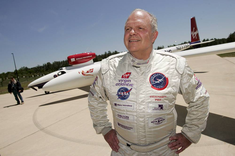 On September 3, 2007 James Fossett, an American businessman and a record-setting aviator and adventurer was reported missing after the plane he was flying over the Great Basin Desert in Nevada failed to return
