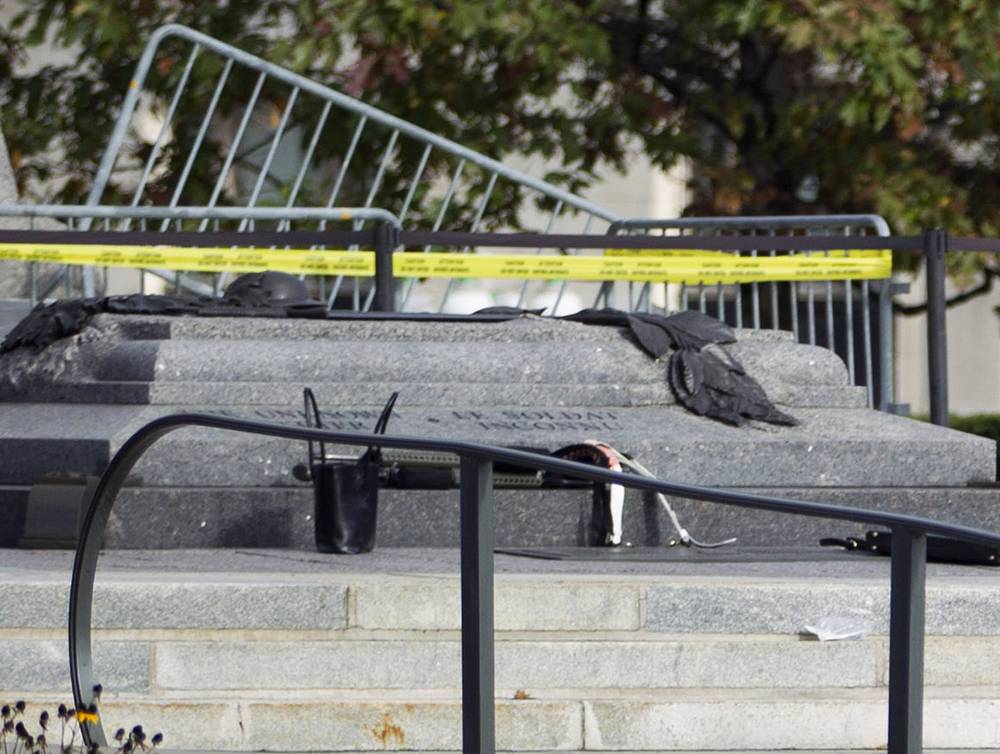 The guard of honor, shot dead at the War Memorial, was later identified as Cpl. Nathan Cirillo, 24, a reservist based out of Hamilton, Ontario