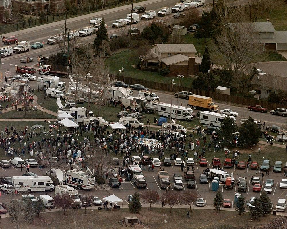 The Columbine High School massacre occurred on April 20, 1999, at Columbine High School in Colorado, US