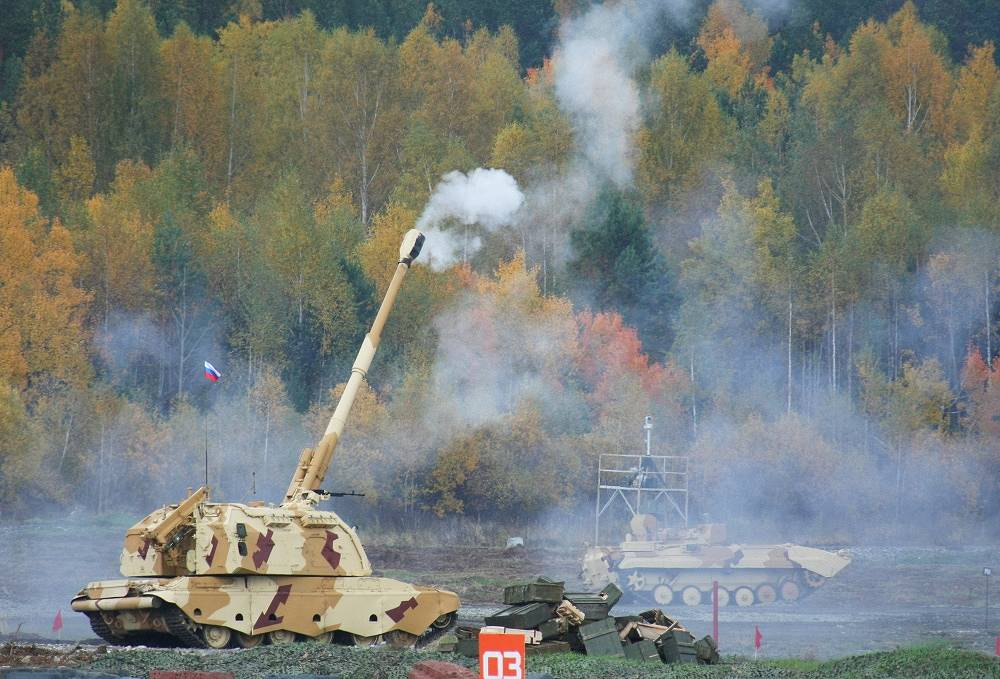 Msta-S (after the Msta River) is a self-propelled 152 mm howitzer