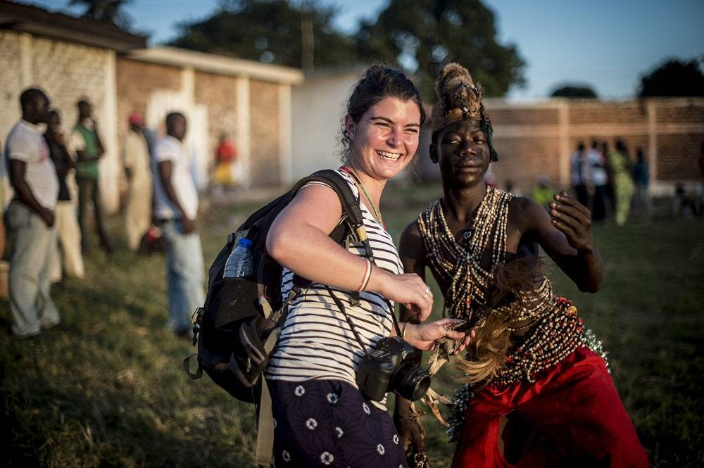French photojournalist Camille Lepage was killed while covering the deteriorating situation in the Central African Republic on May 12, 2014