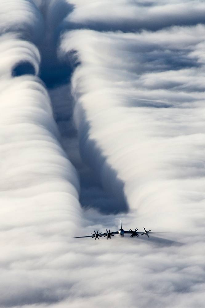 Tu-95 was an icon of the Cold War as it performed a maritime surveillance and targeting mission for other aircrafts, surface ships and submarines