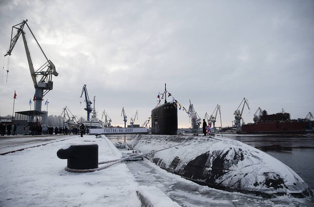 Photo: Project 636.3 diesel-electric submarine Rostov-on-Don