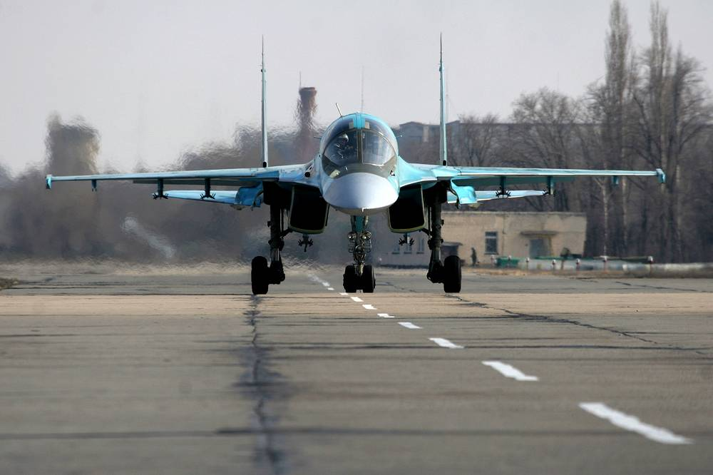 Su-34 is designed primarily for tactical deployment against ground and naval targets