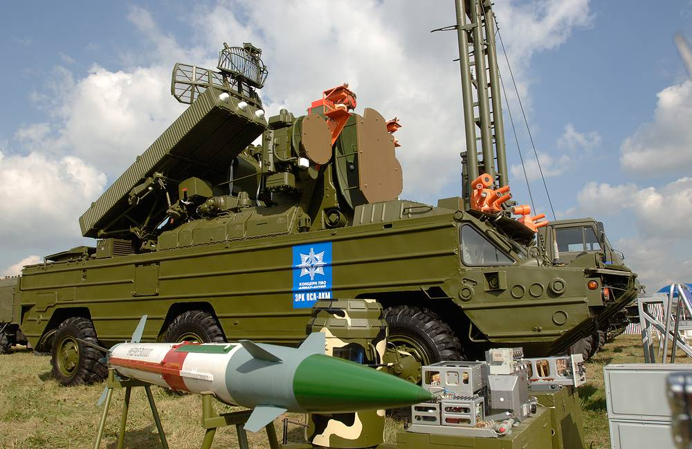 9K33 Osa is a highly mobile, short-range tactical surface-to-air missile system
