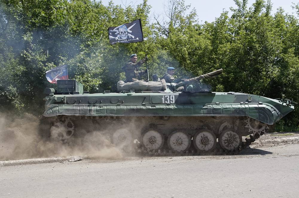 DPR's representative said he was surprised to hear that the OSCE is nevertheless not ready to confirm DPR's withdrawal of weapons of a caliber less than 100mm from the kine of engagement