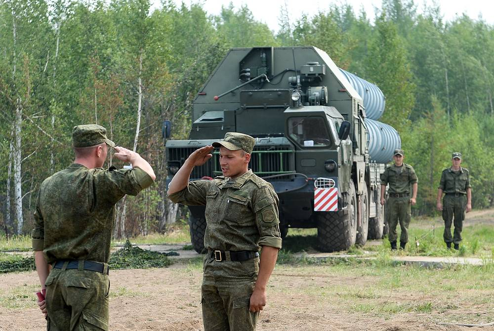 Air defense drills in Buryatia