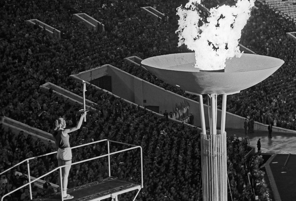 During its nearly 60-year history the stadium also hosted a lot of major sporting events. Photo: The opening ceremony of the 1973 Summer Universiade