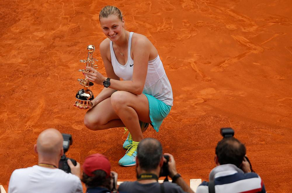 Czech Petra Kvitova ($7.7 million)
