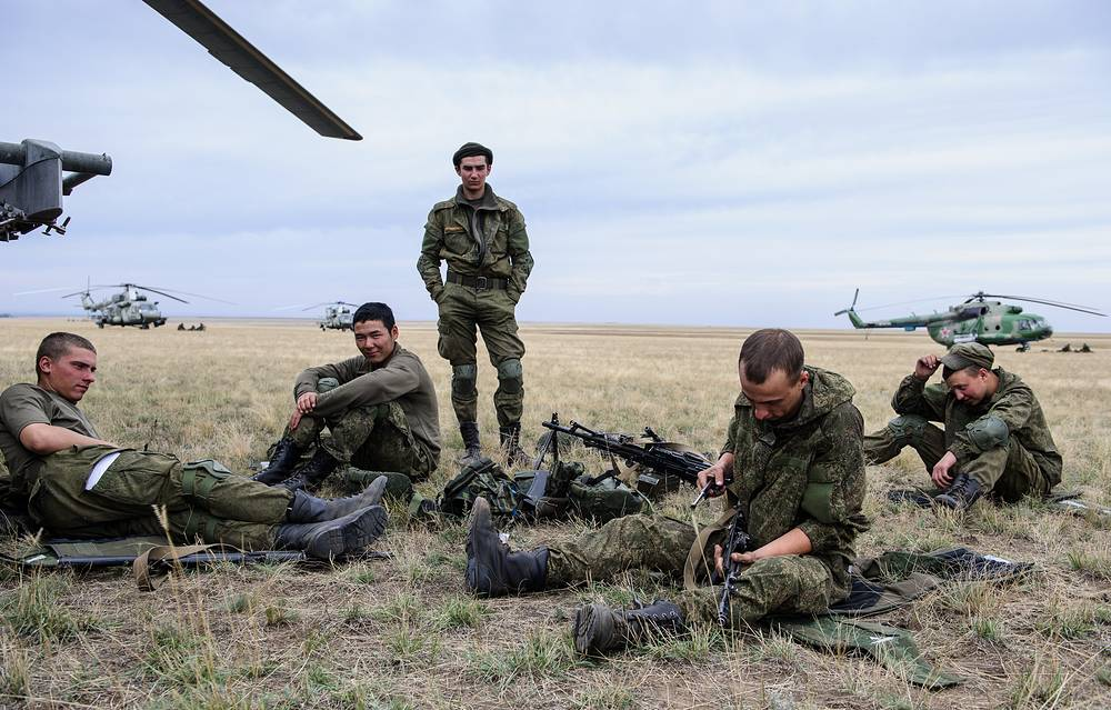 The exercise is held in the Urals area, as well as in the country's European part