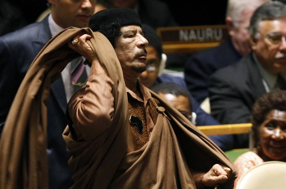 The speeches of former Libyan leader Muammar Gaddafi were among the most controversial and long in the UN. In 2009 Gaddafi shattered protocol by giving a speech that stretched for 90 minutes instead of the allotted 15
