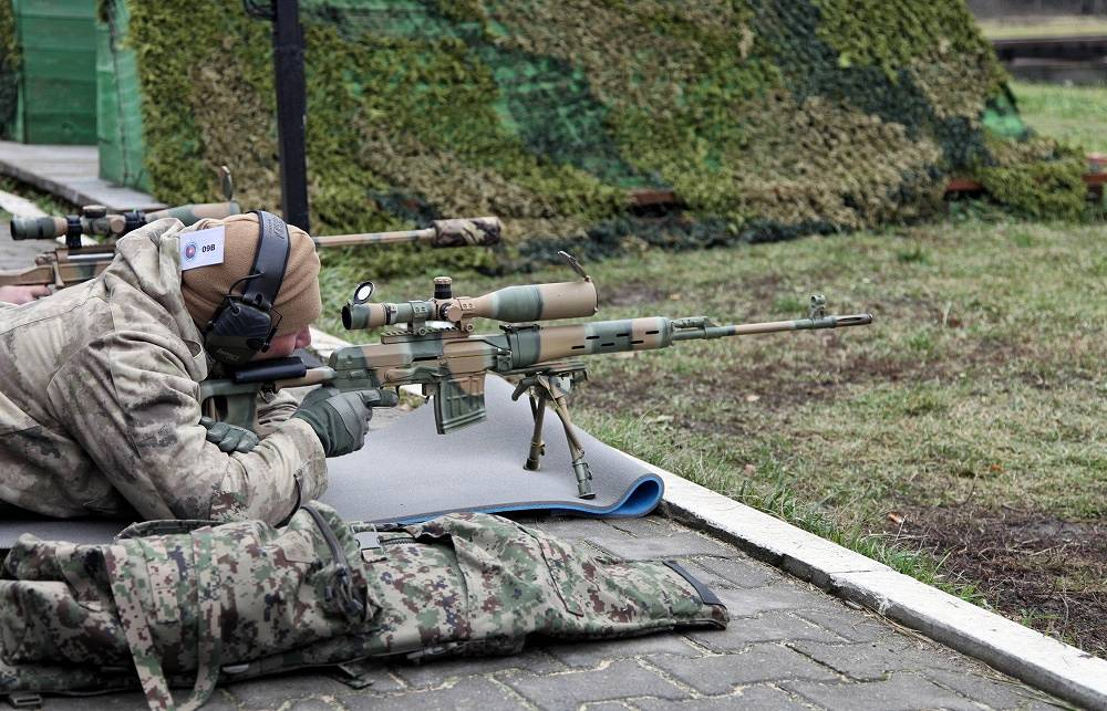 Dragunov SVD was the standard sniper rifle issued to the Red Army and most Warsaw Pact nations during the Cold war. It's in service already for more than 50 years